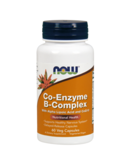 Now Co-Enzyme B-Complex - 60 Veg Capsules