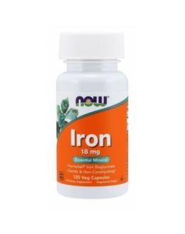 Vas / Iron 18 mg 120 Veg Capsules