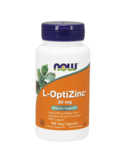 L-OptiZinc® 30 mg - 100 Veg Capsules