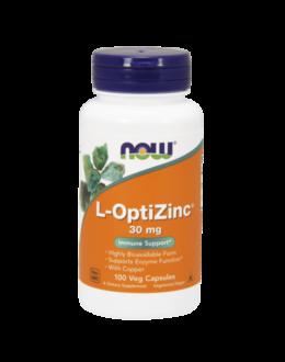 L-OptiZinc® 30 mg - 100 Veg Capsules