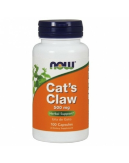 Now Cat's Claw 500 mg - 100 Veg Capsules