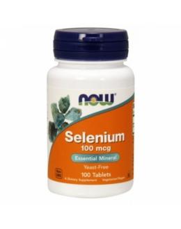 Now Selenium 100 mcg - 100 Tablets
