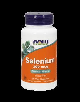 Now Selenium 200 mcg - 90 Veg Capsules
