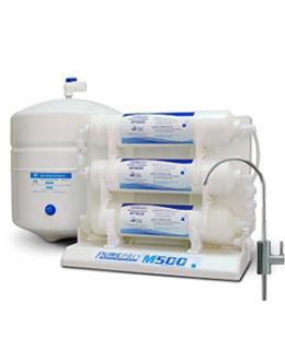 """PurePro M500P RO víztisztító nyomásfokozóval """"Kompakt"""