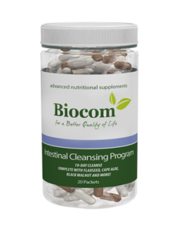 Biocom Intestinal Cleansing Program 20 Csomag