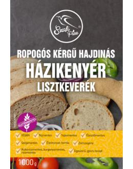 Szafi Free Ropogós kérgű hajdinás házikenyér lisztkeverék (gluténmentes, tejmentes, tojásmentes, maglisztmentes, élesztőmentes, zsírszegény, vegán)