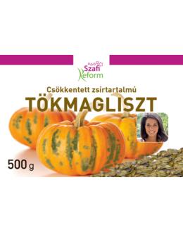 SZAFI REFORM CSÖKKENTETT ZSÍRTARTALMÚ TÖKMAGLISZT 500 G
