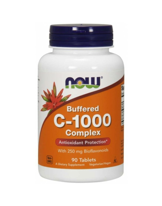 Now C-1000 Complex - 90 Tablets Buffered C