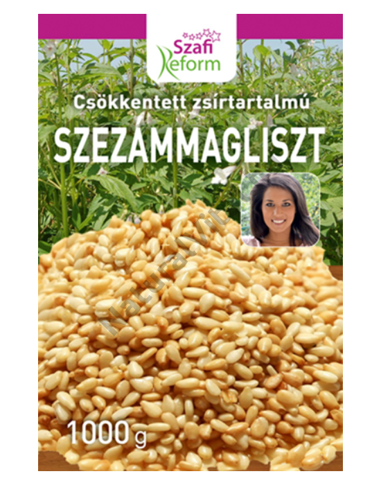 Szafi Reform csökkentett zsírtartalmú szezámmagliszt (gluténmentes) 1000g