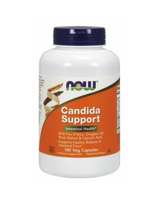 Now Candida Support - 180 Veg Capsules