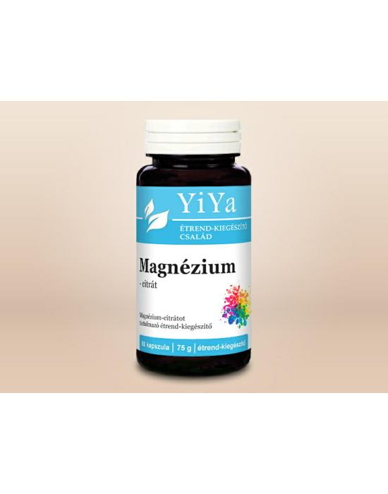 YiYa Magnézium-biszglicinát - vízoldékony, jól felszívódó, kelát-kötésű magnézium!