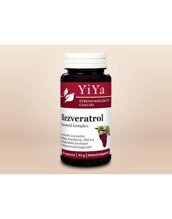 YiYa Rezveratrol flavonoid komplex - az egészséges érrendszerért és vérkeringésért