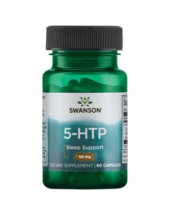 Swanson 5-HTP 50mg 60 kapszula