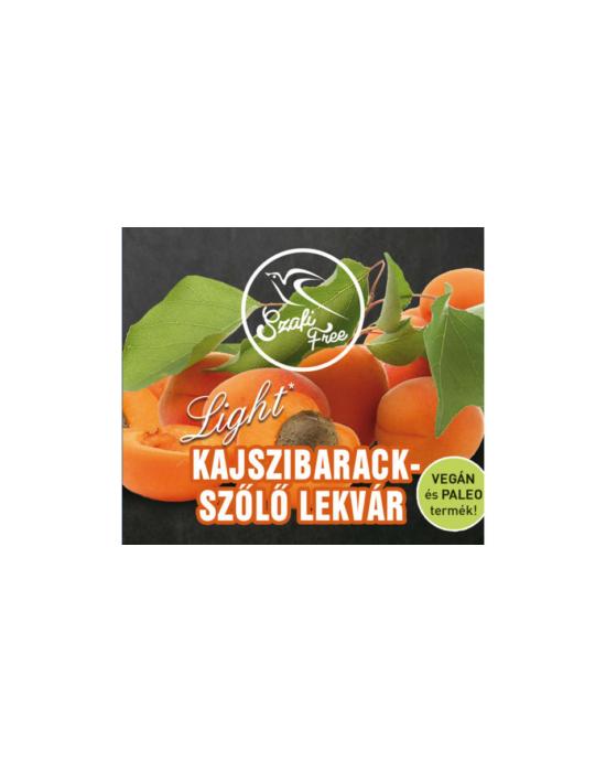 SZAFI FREE KAJSZIBARACK-SZŐLŐ LEKVÁR 350 G